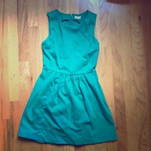 J. Crew Green XXS Dress